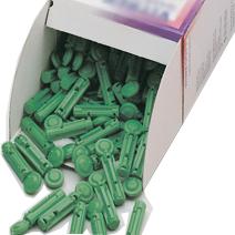 скарификатор Soft 30G зеленый